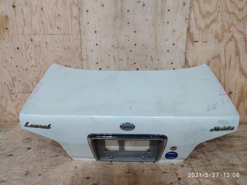 Крышка багажника Nissan Laurel HC35 RB20DE 2000