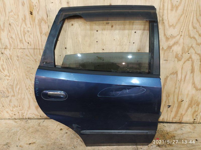 Дверь боковая Nissan Tino HV10 SR20DE 1999 задняя правая