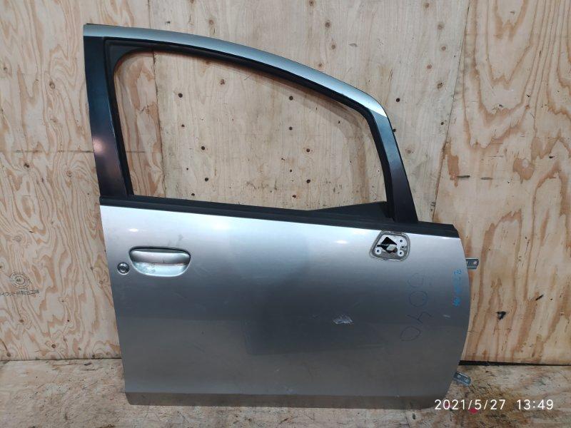 Дверь боковая Mitsubishi Colt Z27A 4G15 2003 передняя правая