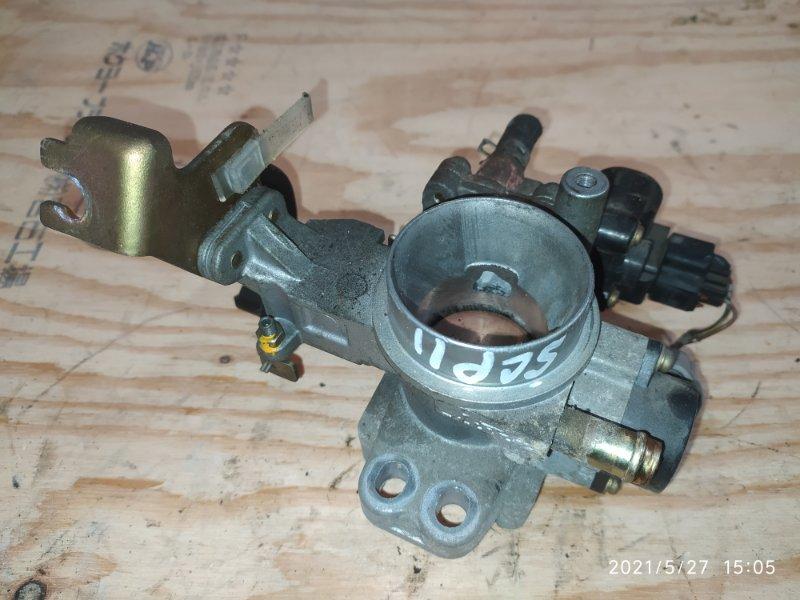 Заслонка дроссельная Toyota Platz SCP11 1SZ-FE 2000