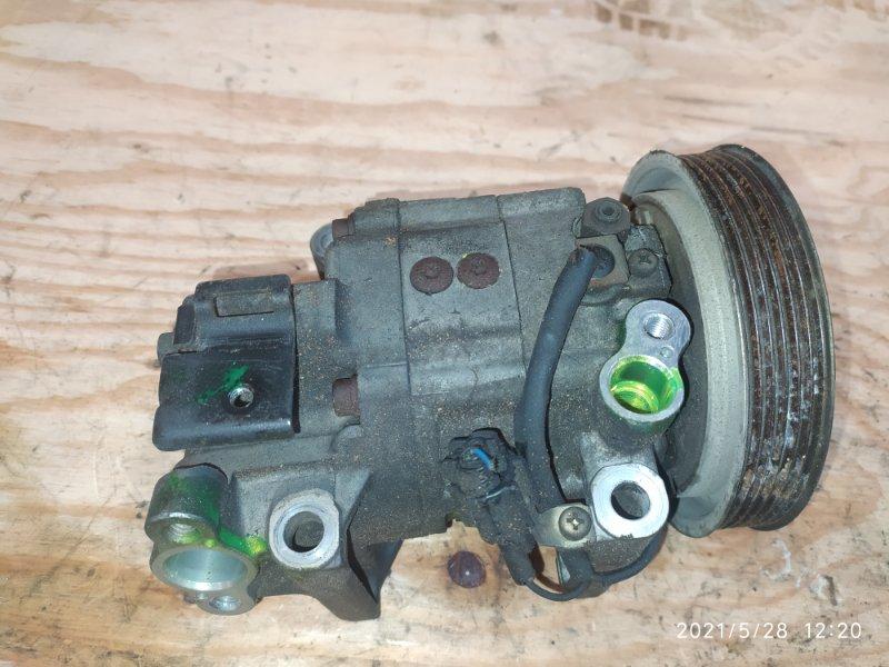 Компрессор кондиционера Nissan Tino HV10 SR20DE 1999