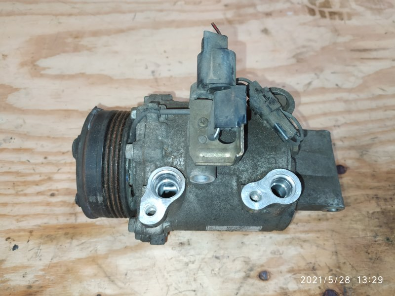 Компрессор кондиционера Mitsubishi Colt Z27A 4G15 2003