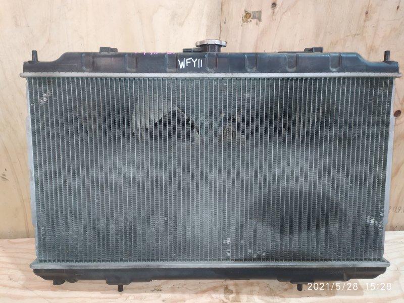 Радиатор двигателя Nissan Wingroad WFY11 QG15DE 2004