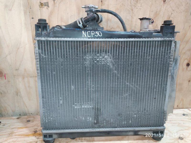 Радиатор двигателя Toyota Bb NCP30 2NZ-FE 2005