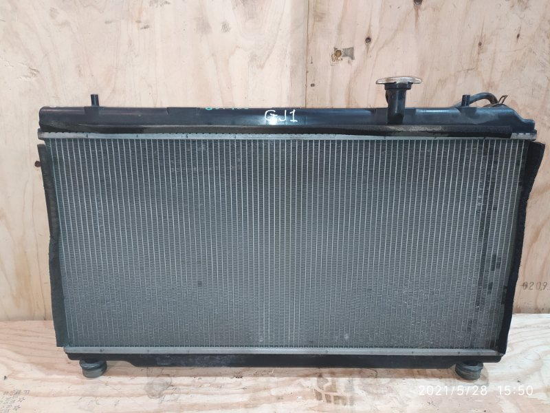 Радиатор двигателя Honda Airwave GJ1 L15A 2006