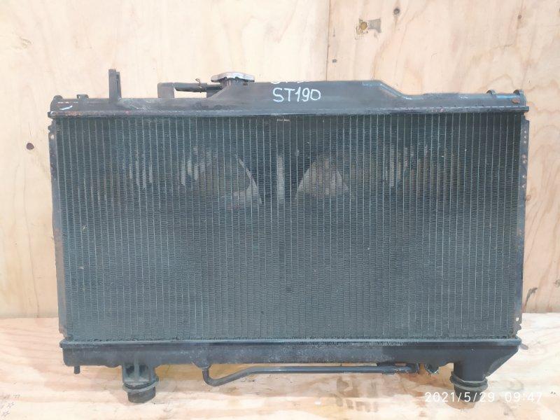 Радиатор двигателя Toyota Carina ST190 4S-FE 1994