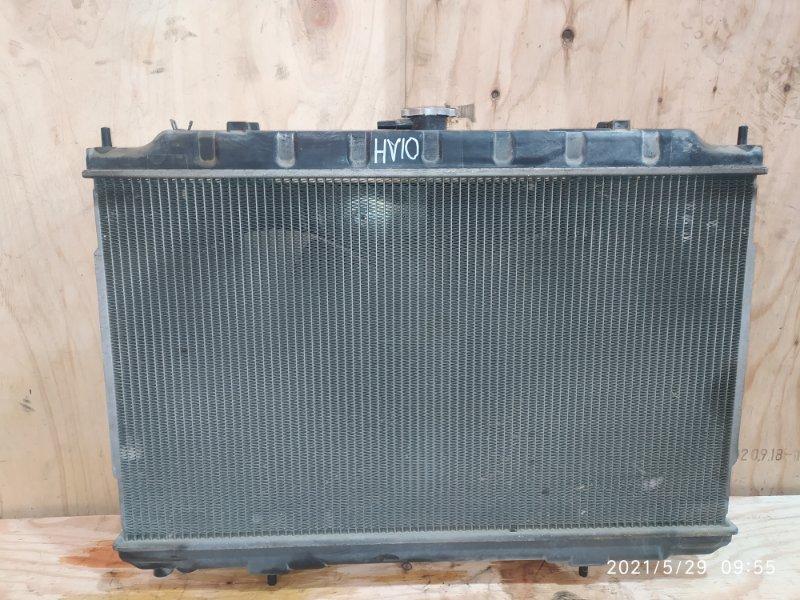 Радиатор двигателя Nissan Tino HV10 SR20DE 1999