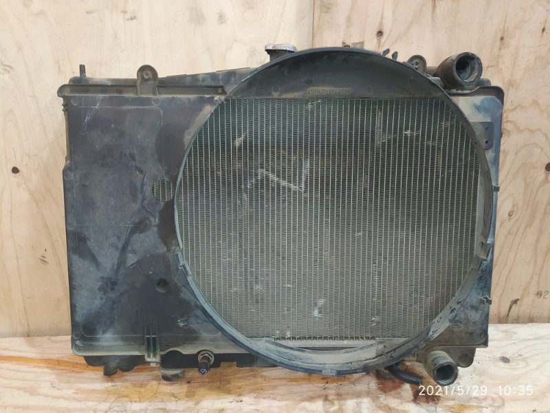 Радиатор двигателя Nissan Laurel HC35 RB20DE 2000