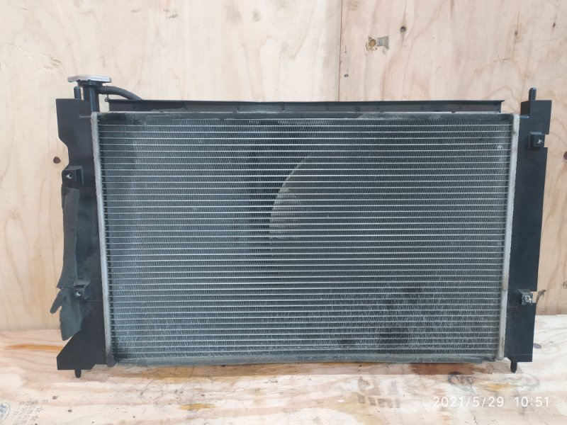 Радиатор двигателя Mitsubishi Colt Z25A 4G19 2004