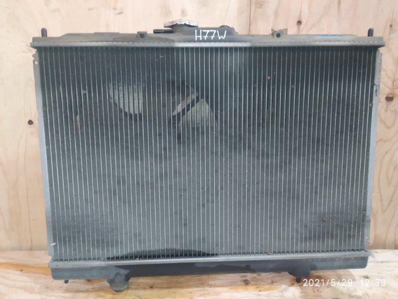 Радиатор двигателя Mitsubishi Pajero Io H77W 4G94 2001