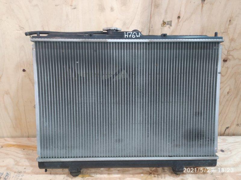 Радиатор двигателя Mitsubishi Pajero Io H76W 4G93 2003