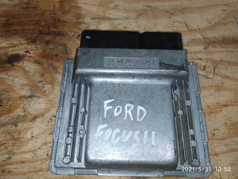 Блок управления двс Ford Focus AODA 2006