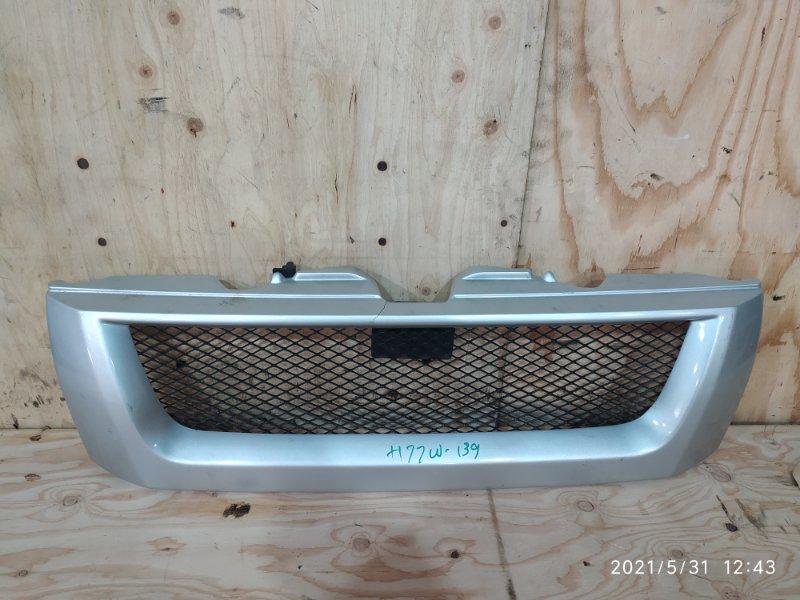 Решетка радиатора Mitsubishi Pajero Io H77W 4G94 2001