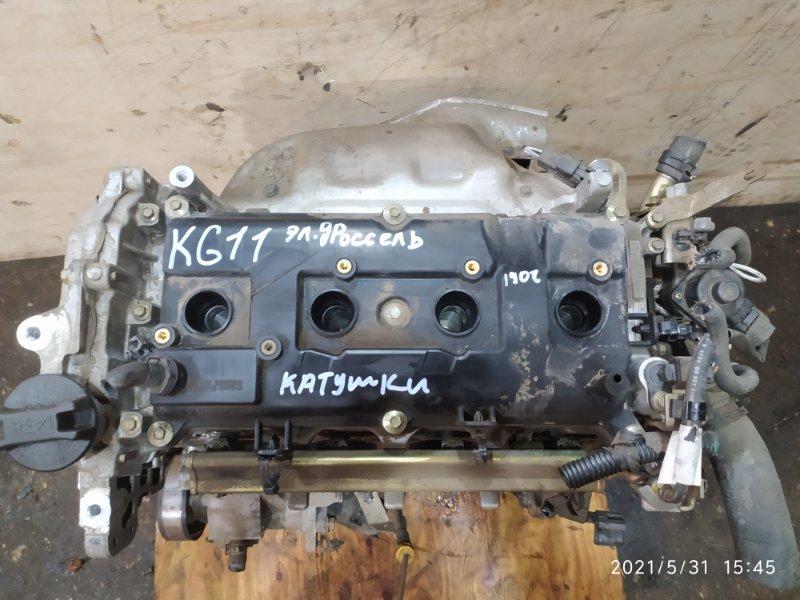 Двигатель Nissan Bluebird Sylphy KG11 MR20DE 2006
