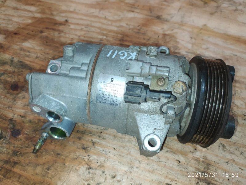 Компрессор кондиционера Nissan Bluebird Sylphy KG11 MR20DE 2006