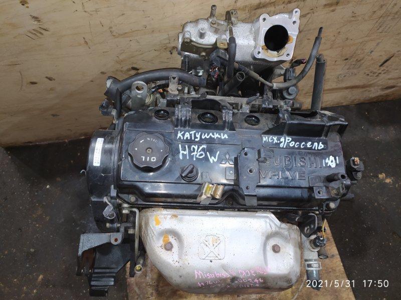 Двигатель Mitsubishi Pajero Io H76W 4G93 2003