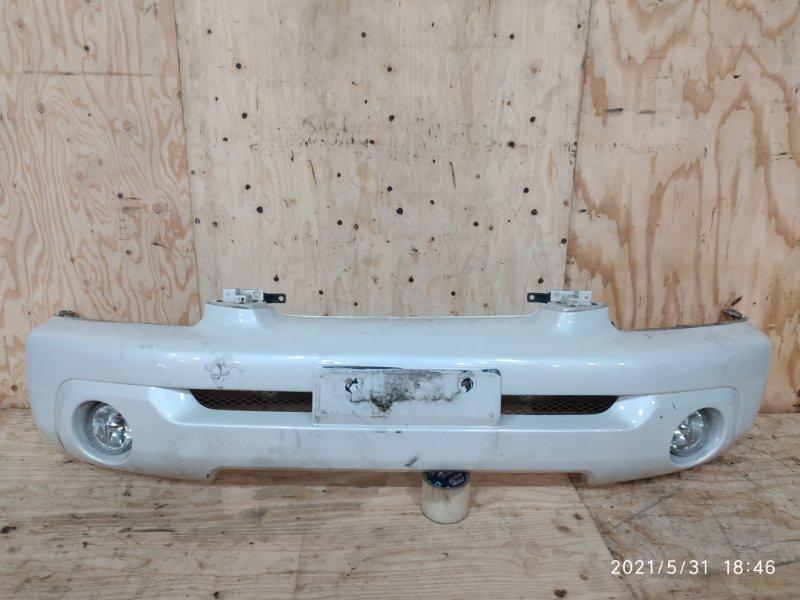 Бампер Mitsubishi Pajero Io H76W 4G93 2003 передний