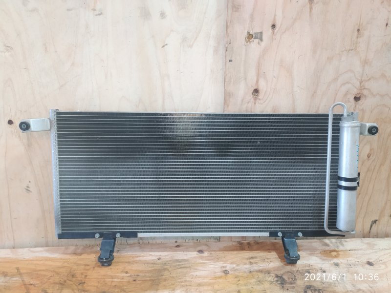 Радиатор кондиционера Mitsubishi Pajero Io H76W 4G93 2003