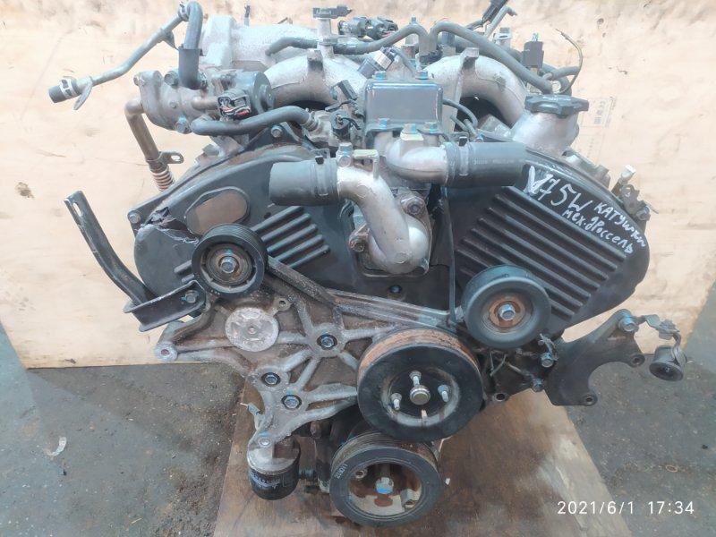 Двигатель Mitsubishi Pajero V75W 6G74 2002