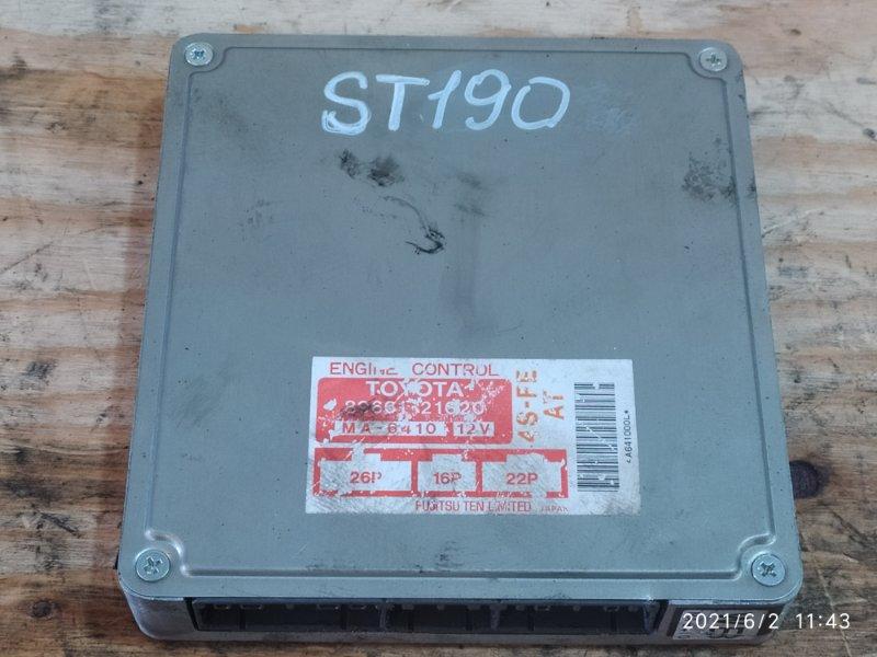 Блок управления двс Toyota Caldina ST190G 4S-FE 1994