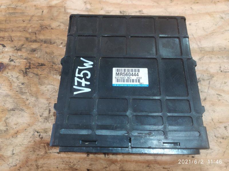 Блок управления двс Mitsubishi Pajero V75W 6G74 2002