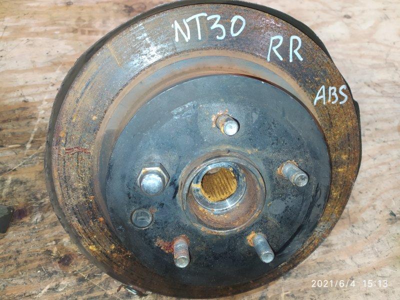 Ступица Nissan X-Trail NT30 QR20DE 2004 задняя правая