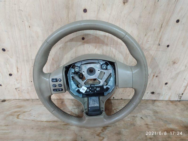 Руль Nissan Bluebird Sylphy KG11 MR20DE 2006