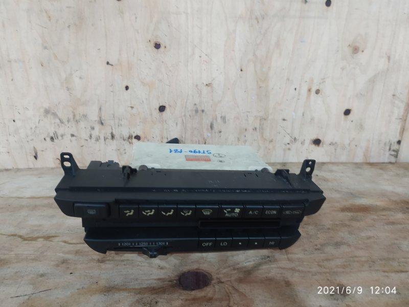 Блок управления климат-контролем Toyota Carina ST190 4S-FE 1994