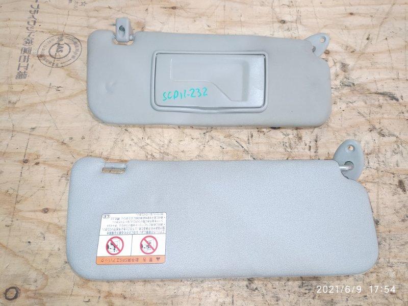 Солнцезащитный козырек Toyota Platz SCP11 1SZ-FE 2000