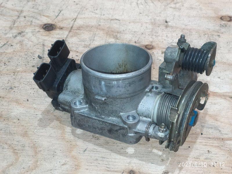 Заслонка дроссельная Nissan Bluebird HU14 SR20DE 2000