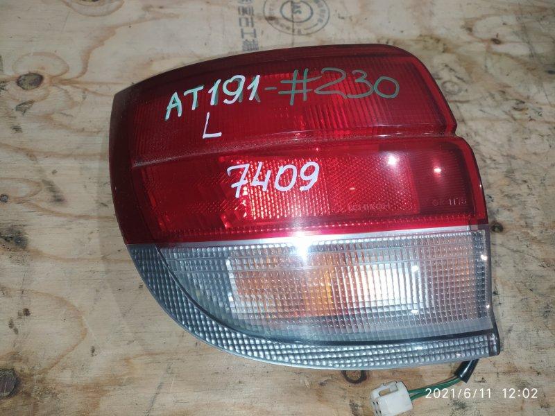 Фонарь стоп-сигнала Toyota Caldina AT191G 7A-FE 1996 левый
