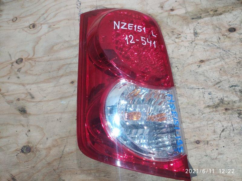 Фонарь стоп-сигнала Toyota Corolla Rumion NZE151N 1NZ-FE 2009 левый