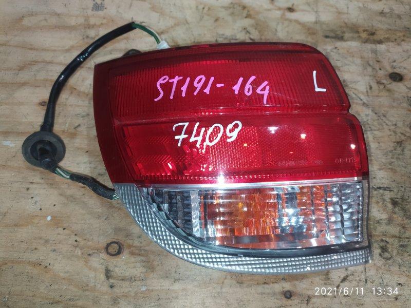 Фонарь стоп-сигнала Toyota Caldina ST191G 3S-FE 1997 левый