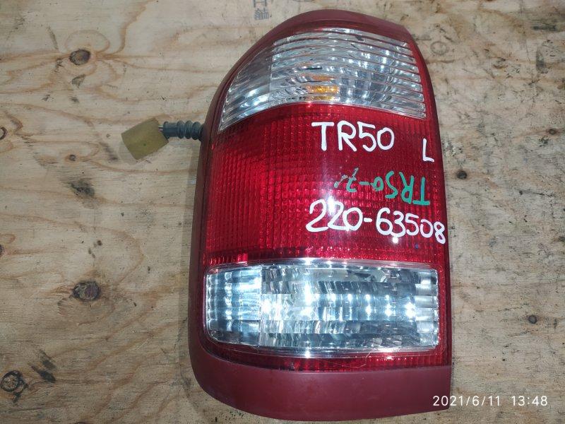 Фонарь стоп-сигнала Nissan Terrano TR50 ZD30DDTI 2002 левый
