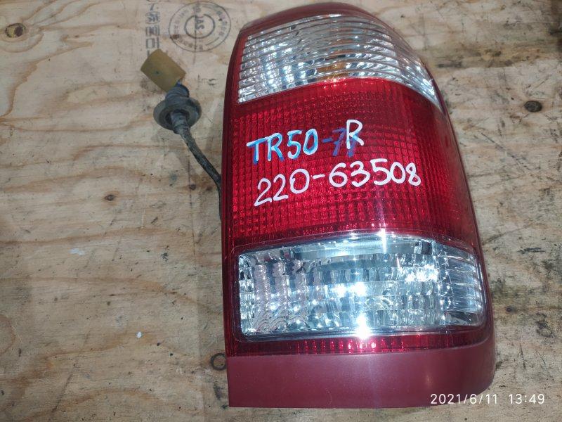 Фонарь стоп-сигнала Nissan Terrano TR50 ZD30DDTI 2002 правый