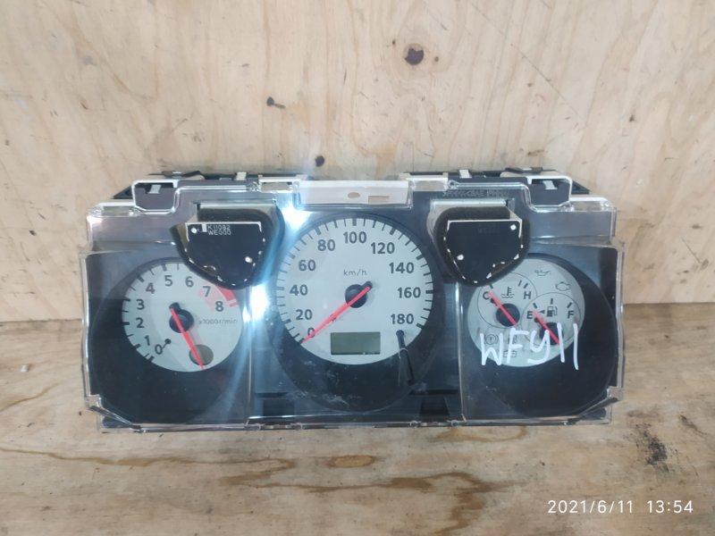Комбинация приборов Nissan Wingroad WFY11 QG15DE 2001
