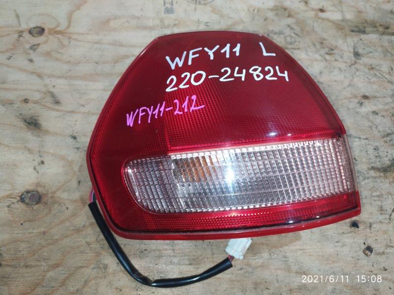 Фонарь стоп-сигнала Nissan Wingroad WFY11 QG15DE 2001 левый
