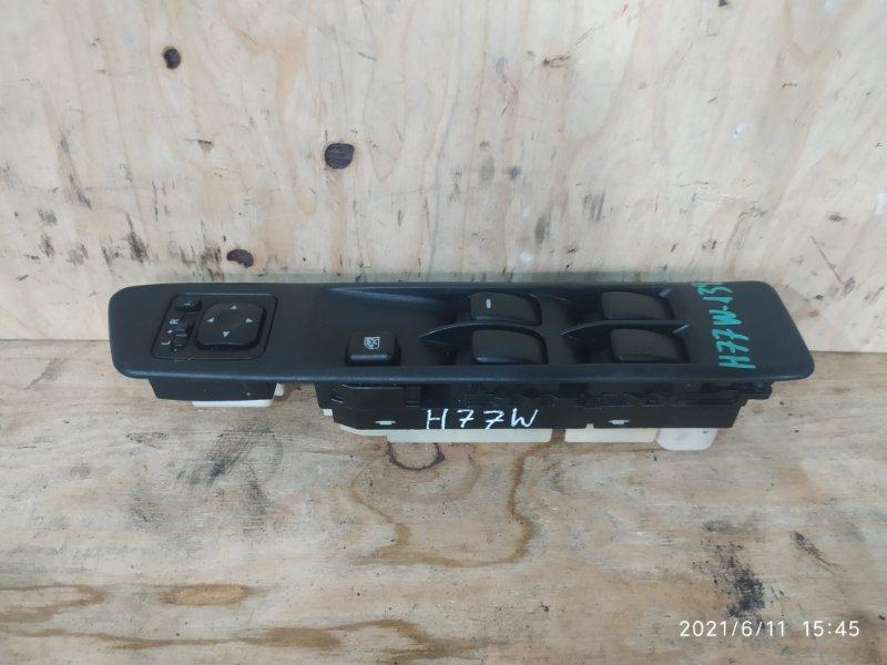 Блок управления стеклоподъемниками Mitsubishi Pajero Io H77W 4G94 2001