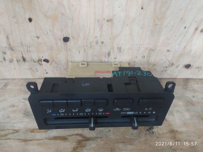 Блок управления климат-контролем Toyota Caldina AT191G 7A-FE 1996