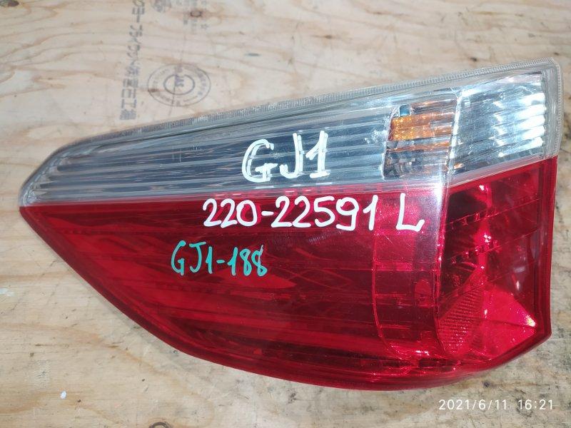 Фонарь стоп-сигнала Honda Airwave GJ1 L15A 2006 левый