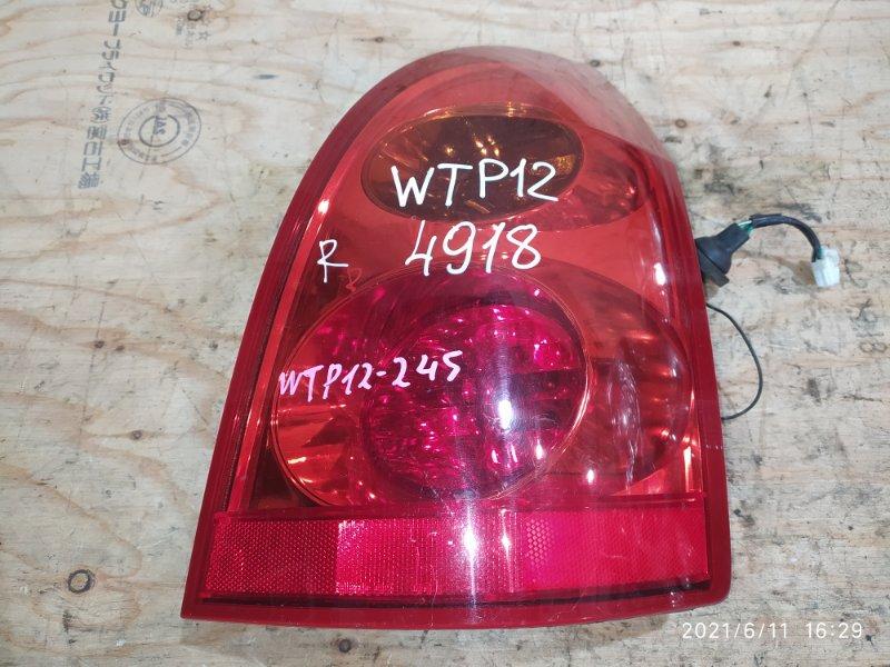 Фонарь стоп-сигнала Nissan Primera WTP12 QR20DE 2002 правый