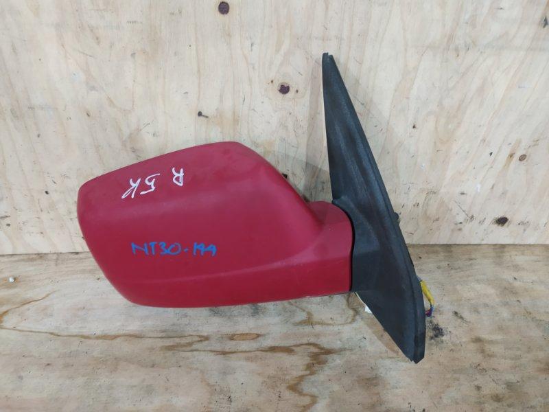 Зеркало боковое Nissan X-Trail NT30 QR20DE 2004 правое