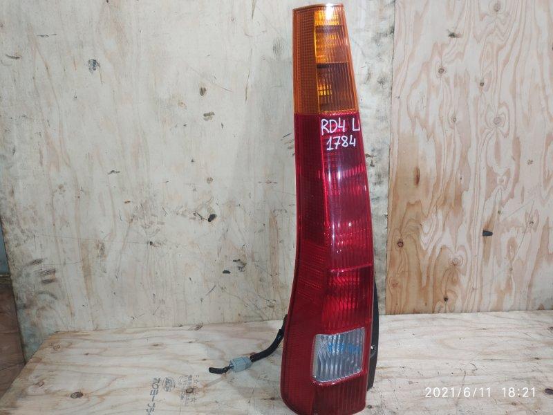 Фонарь стоп-сигнала Honda Cr-V RD4 K20A 2003 левый