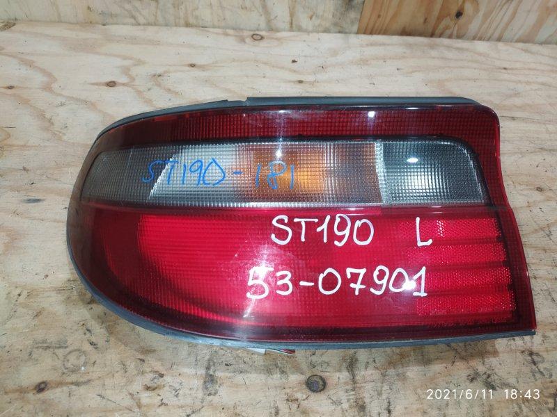 Фонарь стоп-сигнала Toyota Carina ST190 4S-FE 1994 левый