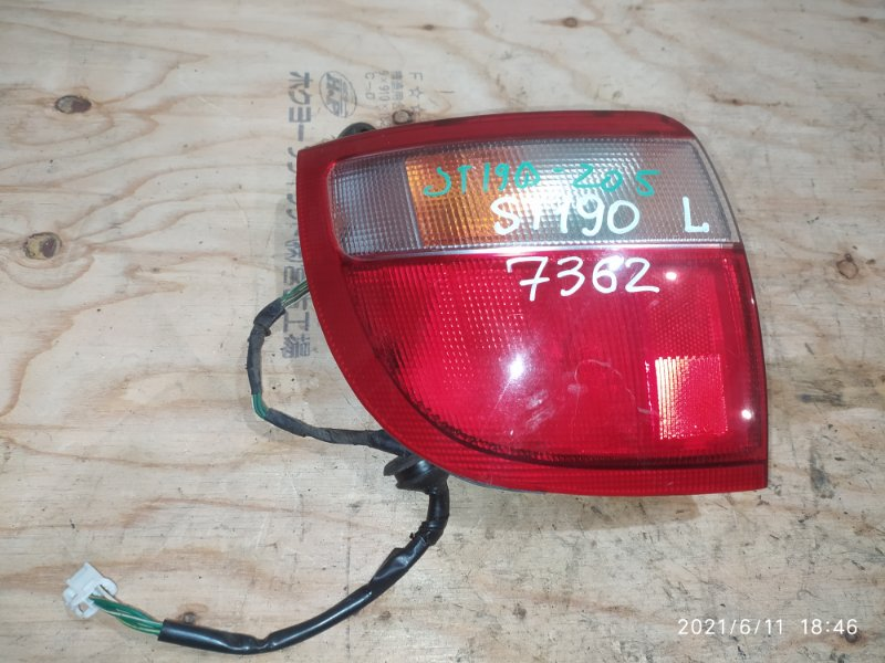 Фонарь стоп-сигнала Toyota Caldina ST190G 4S-FE 1994 левый