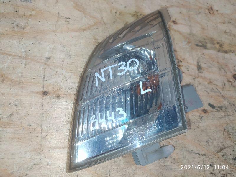Поворотник Nissan X-Trail NT30 QR20DE 2004 левый