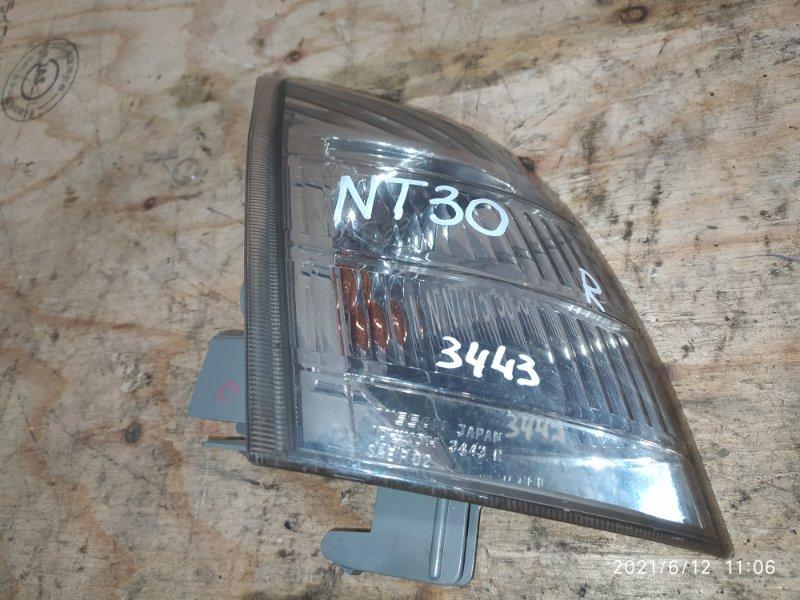 Поворотник Nissan X-Trail NT30 QR20DE 2004 правый