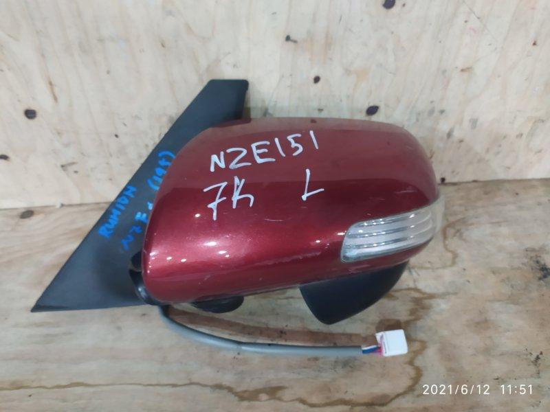 Зеркало боковое Toyota Corolla Rumion NZE151N 1NZ-FE 2009 левое