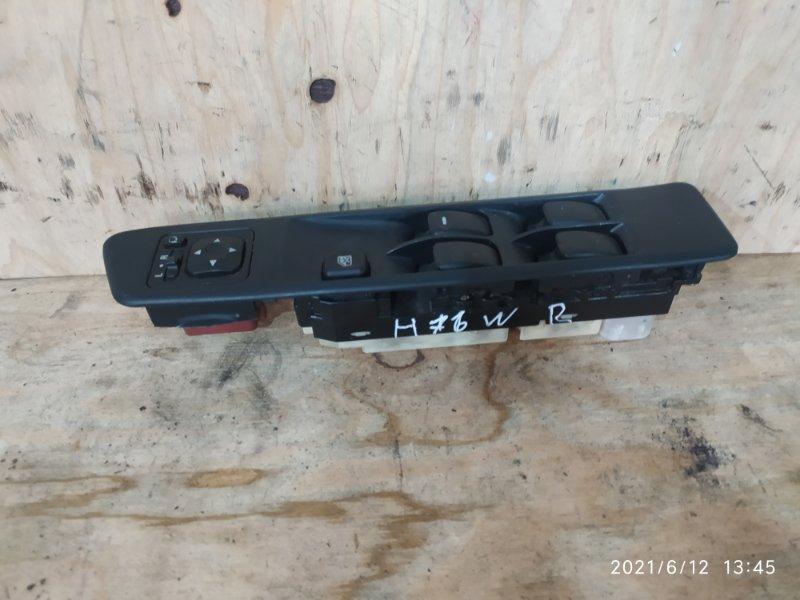 Блок управления стеклоподъемниками Mitsubishi Pajero Io H76W 4G93 2003