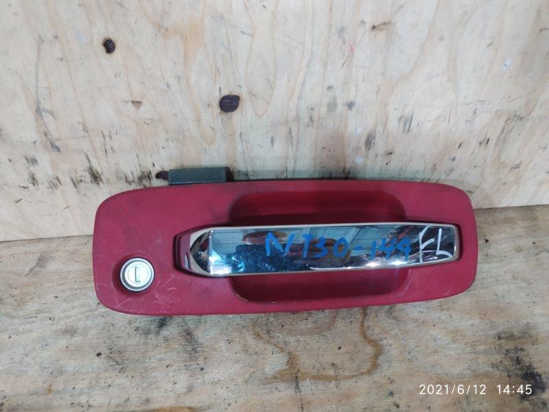 Ручка наружная Nissan X-Trail NT30 QR20DE 2004 передняя левая